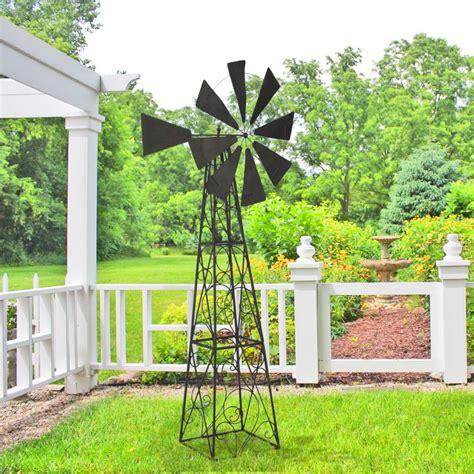 appliques cuisine grande girouette eolienne pour jardin en fer forgé