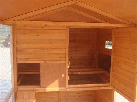 grand poulailler en bois haut de gamme avec enclos 10 12 poules