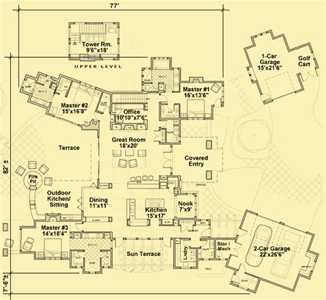 outdoor living floor plans unique courtyard house plans with outdoor living dining