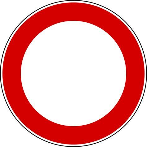 fichieritalian traffic signs divieto  transitosvg