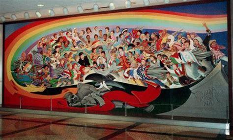 denver airport murals conspiracy debunked denver airport conspiracy theories rationalwiki
