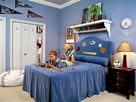 Ideas Sport Themed Bedrooms