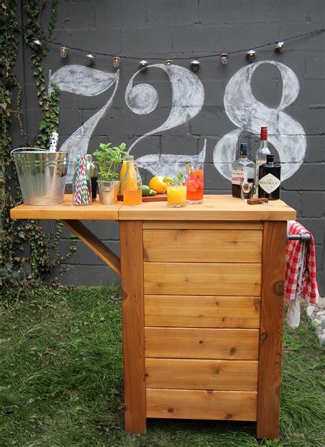 Patio Bar Ideas Diy by 32 Best Diy Outdoor Bar Ideas And Designs For 2017