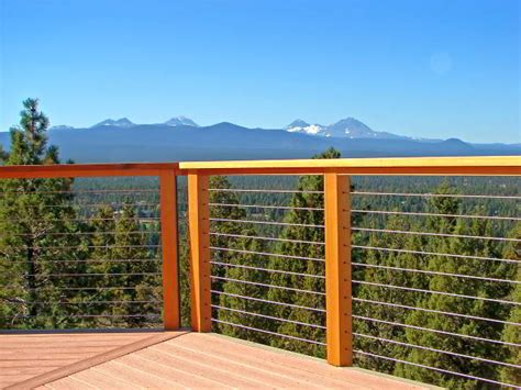 wire banister deck cable railing ultra tec cable railing