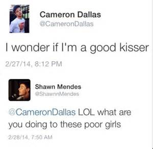 Imagine and Cameron Dallas Shawn Mendes