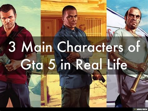 3 Main Characters Of Gta 5 In Real Life