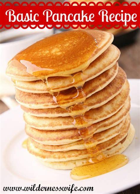 different pancake recipes pancake recipe