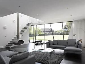 Wohnzimmer Einrichtung Modern : wohnzimmer grau einrichten und dekorieren ~ Sanjose-hotels-ca.com Haus und Dekorationen