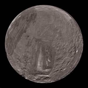 Miranda: Uranus' moon Dataset | Science On a Sphere
