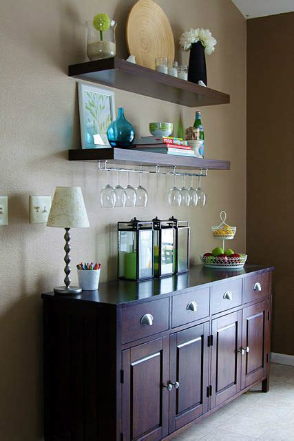 Check around once your table is built and you've set it in place, be sure to secure it to a wall with furniture safety straps! 32 Dining Room Storage Ideas - Decoholic