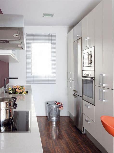 decoracion de cocinas alargadas