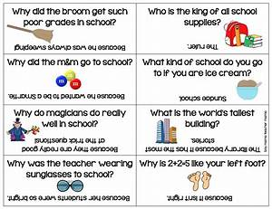 Boy Mama Back To School Lunch Box Riddles Printable Boy