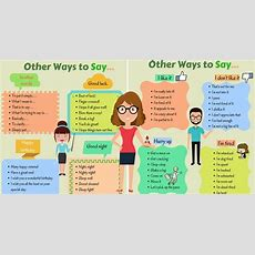 Other Ways To Say  Eslbuzz Learning English