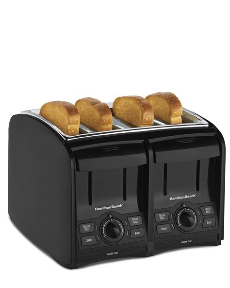 Coolest Toaster - hamilton 4 slice cool touch toaster