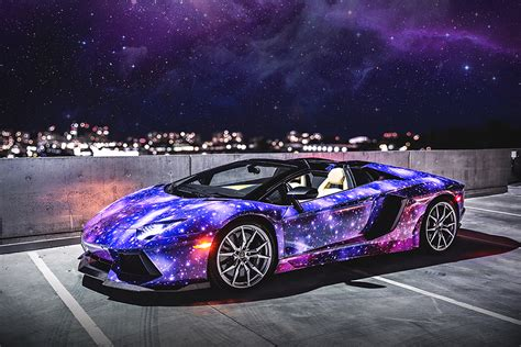Lamborghini Aventador Roadster Galaxy By Dxsc Hiconsumption