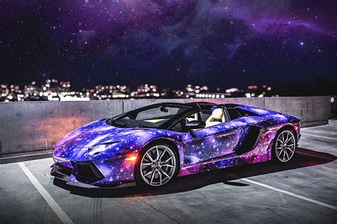 Lamborghini Aventador Roadster Galaxy By Dxsc