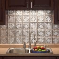 Kitchen Backsplashes Home Depot 18 In X 24 In Traditional 4 Pvc Decorative Backsplash Panel In Crosshatch Silver B51 21 The