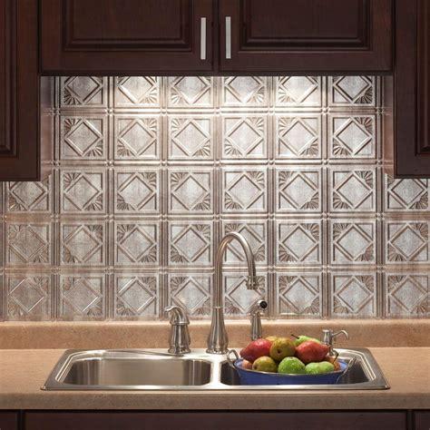 decorative kitchen backsplash 18 in x 24 in traditional 4 pvc decorative backsplash