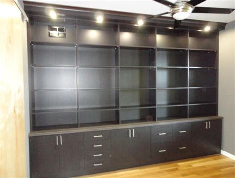 custom bookcase contemporary home office denver by