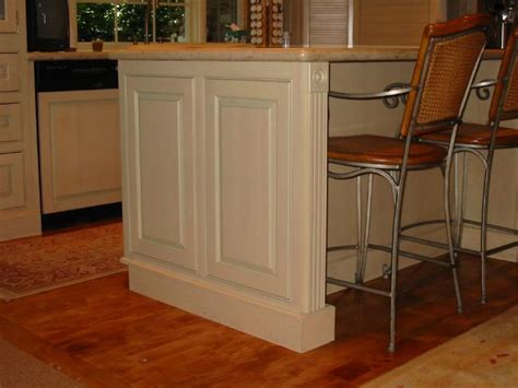 kitchen island panels higgins cabinetry photographs