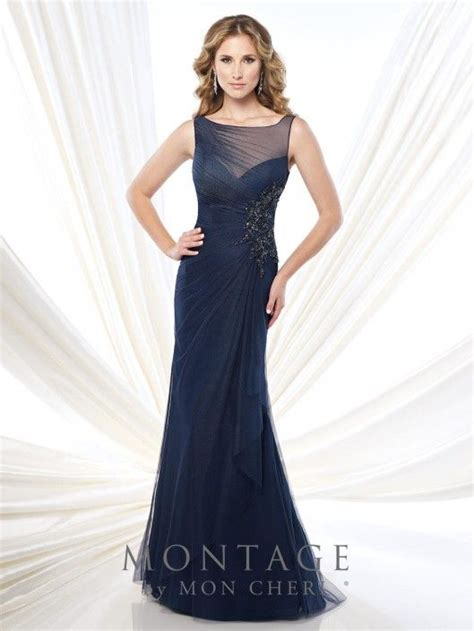 montage 215910 draped formal dress mother of in 2019