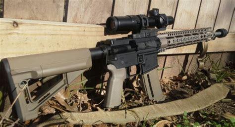 Vtac Light Mount by Custom 5 56 Ar15 Build Gun Reviews Tactical Gun Review