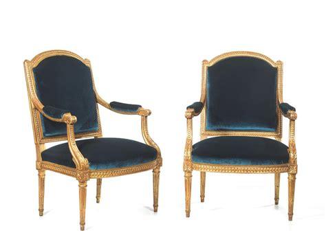 poltrone stile luigi xvi coppia di poltrone in stile luigi xvi francia secolo xix