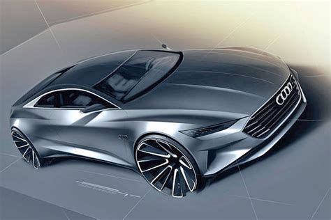 Audi Prologue Concept Sketches Revealed