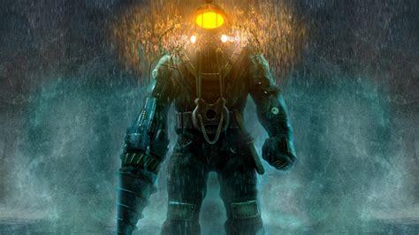 full hd wallpaper bioshock diving suit heavy rain