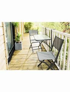 Table De Balcon Pliante : table de balcon pliante anthracite wilsa tables de jardin en aluminium jardin concept ~ Teatrodelosmanantiales.com Idées de Décoration