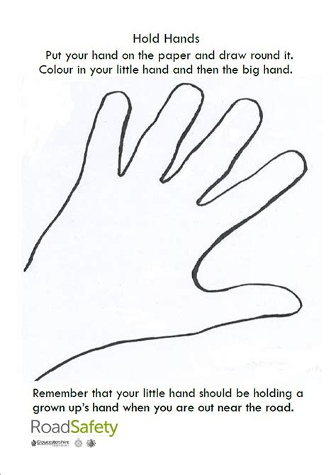 safety worksheets for pre school