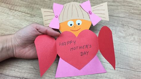 gift card easy paper craft  moms youtube