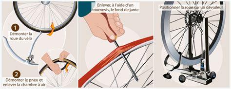 comment monter une chambre a air de velo comment dévoiler une roue de vélo et régler le saut