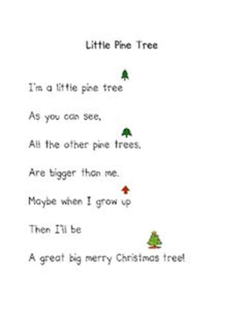 christmas tree songs for preschoolers 1000 images about christmas poems songs and quotes on 8795