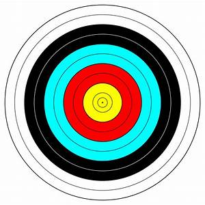 FITA Official Face; archery target by anamix - A FITA ...