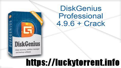 Diskgenius Professional 4.9.6 + Crack