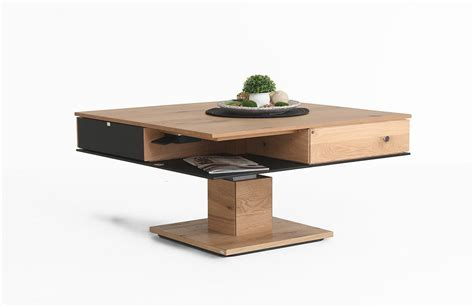 Table Basse Convertible Une Table Basse Convertible Extensible Relevable Et Transformable En Table 224 Manger Un