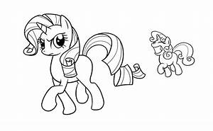 my little pony coloring pages sweetie belle With pony programmer