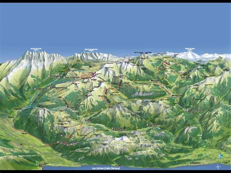 100 alps mountains map alps map swiss alps