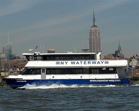 Ferry Boat New York by Ny Waterway Ferry Boat Hudson River New York