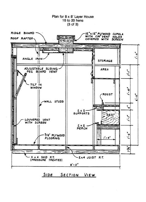 8x8 deck plans free image 8x8 chicken co op building plans