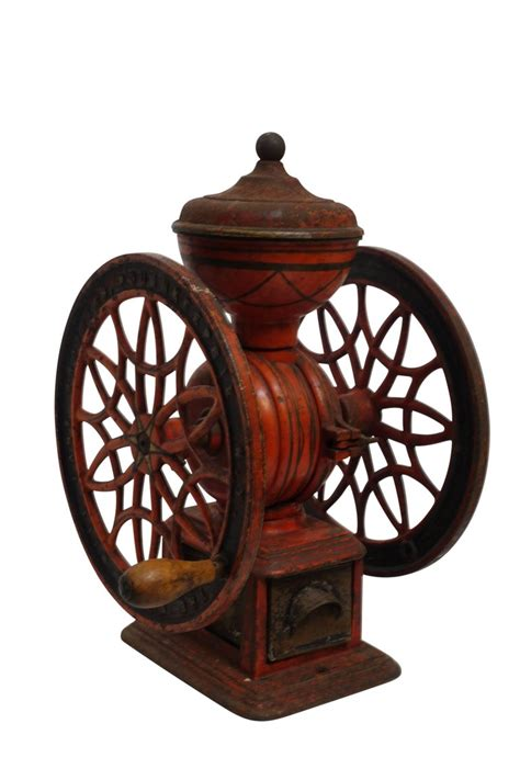 Old vintage primitive coffee grinder hand spice grinder mill czestochowa smellofvintage. Antique Coffee Grinder, American, 19th Century at 1stdibs