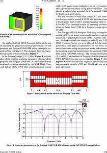 Analyzing An Uwb Bandpass Filter For High Power