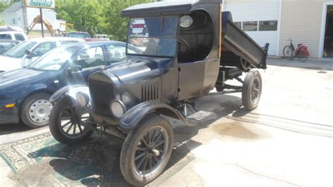 1925 Ford Model Tt C Cab Dump Truck