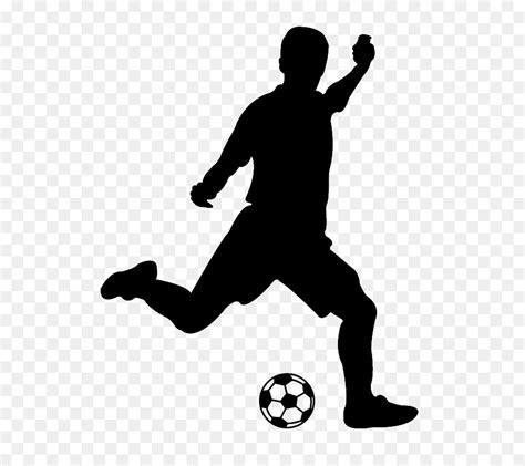 olahraga pemain sepak bola siluet kartun bola basket