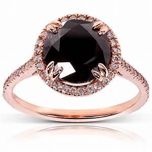 Unique Black Diamond Rings   Wedding, Promise, Diamond ...