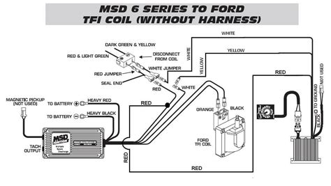 Ford Tfi Timing Control Harness Msd Blog