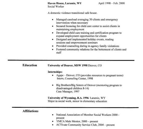 skills to put on social work resume professional resume sles
