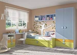 Chambre D Enfant : 40 id es pour une chambre d 39 enfant peinte en couleurs vives ~ Melissatoandfro.com Idées de Décoration