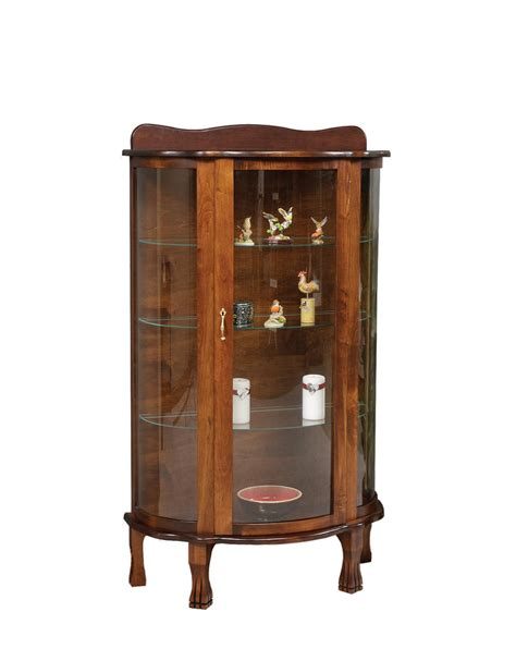 curio cabinets for amish curio cabinet from dutchcrafters amish furniture